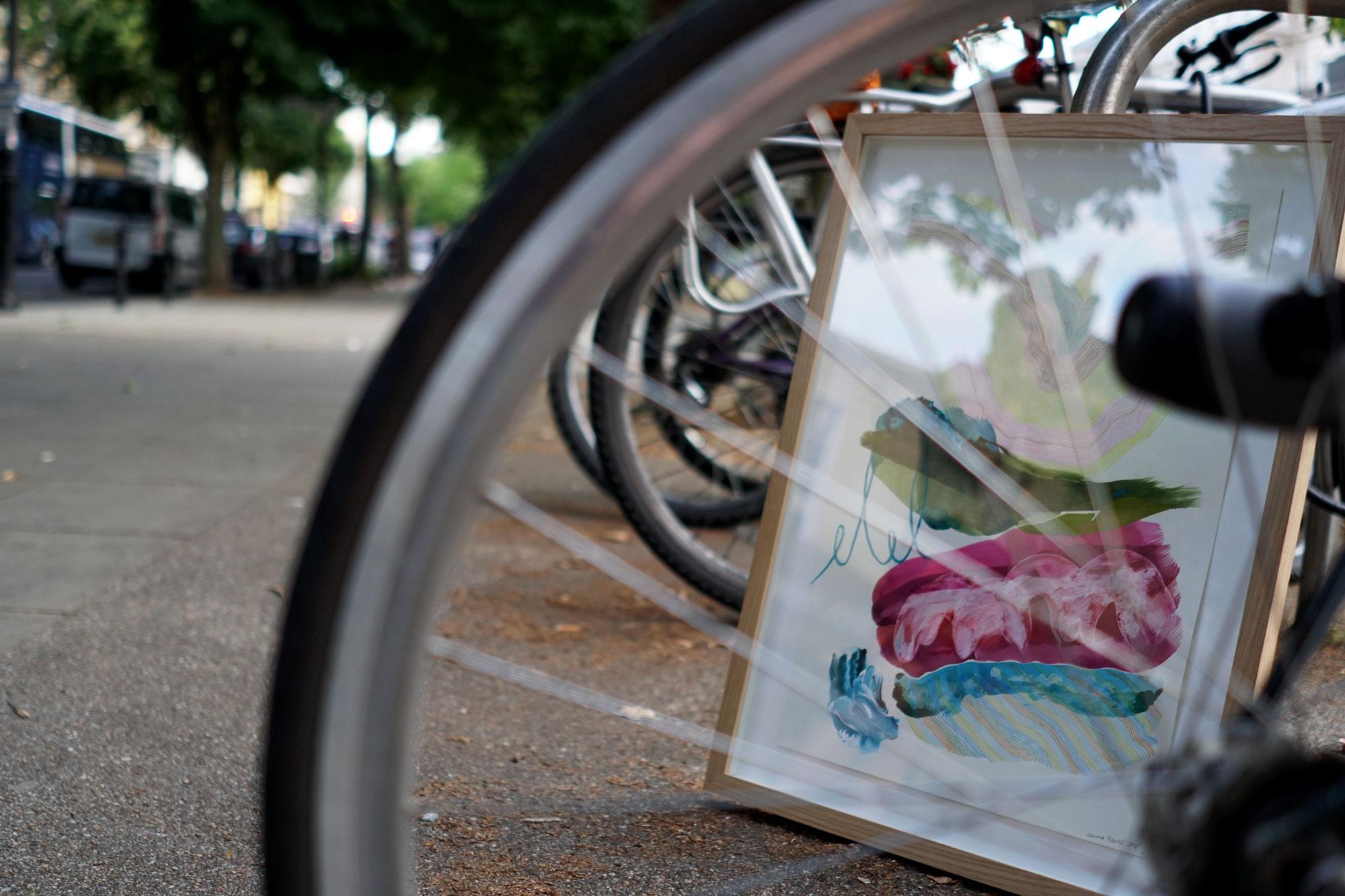 Montpellier promenade painting