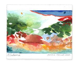 Alabama landscape emma howell artist