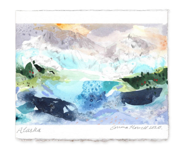 Alaska Landscape emma howell art