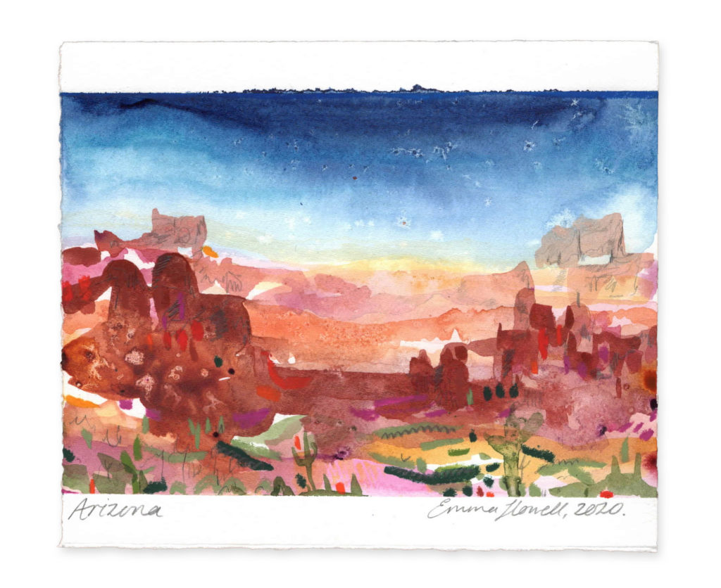 Arizona Landscape Emma Howell Art
