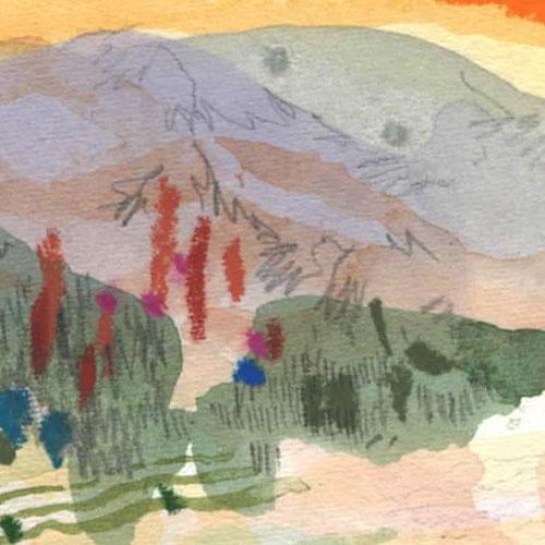 california landscape art 3