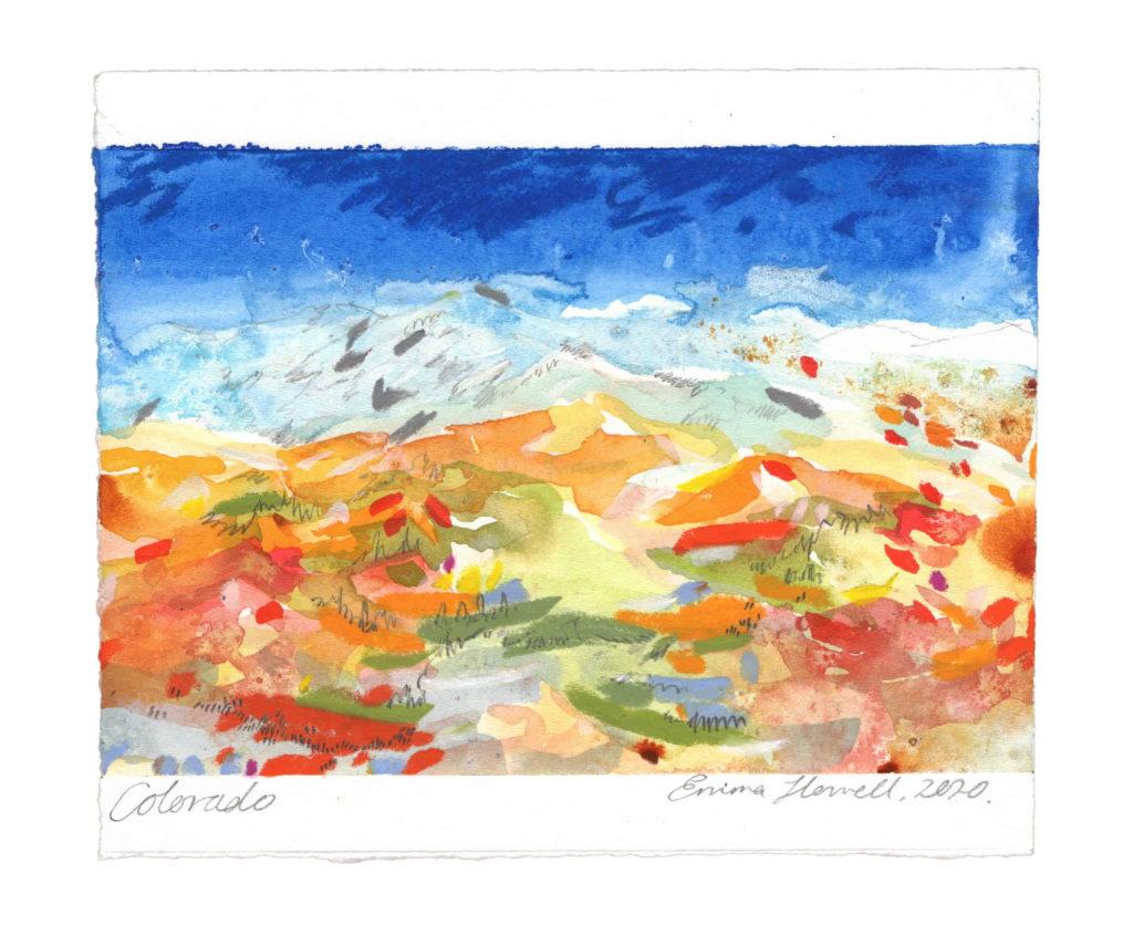 Colorado landscape art emma howell