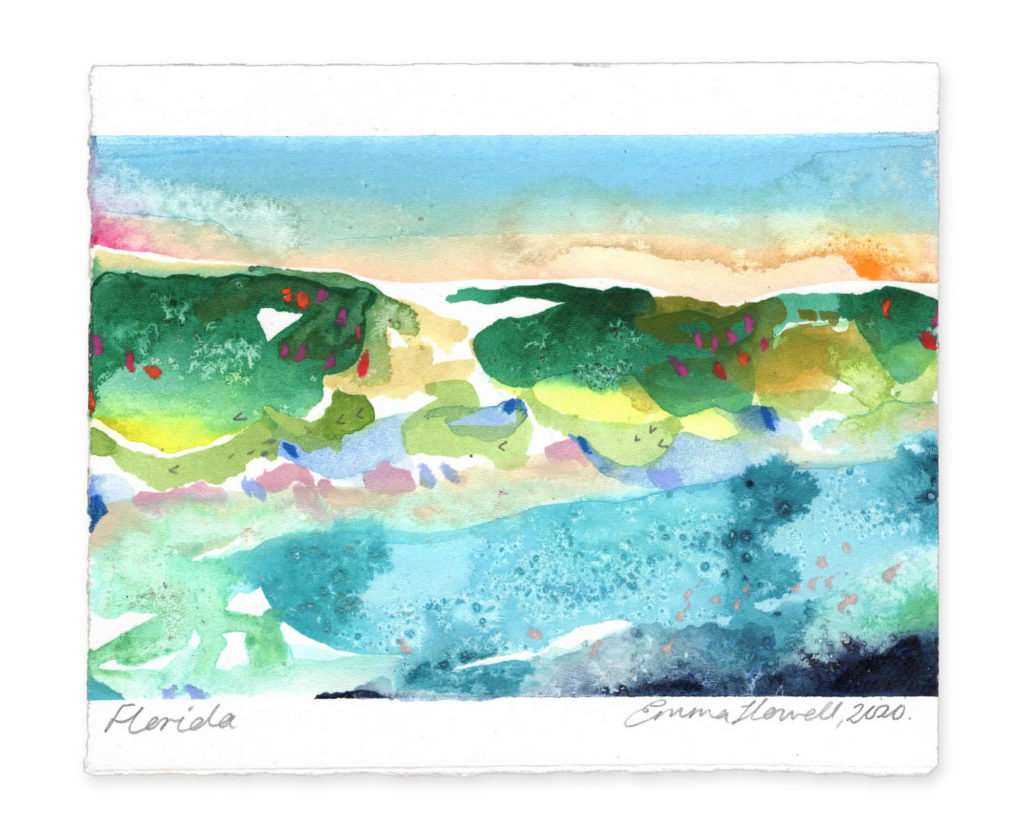 Florida landscape art emma howell