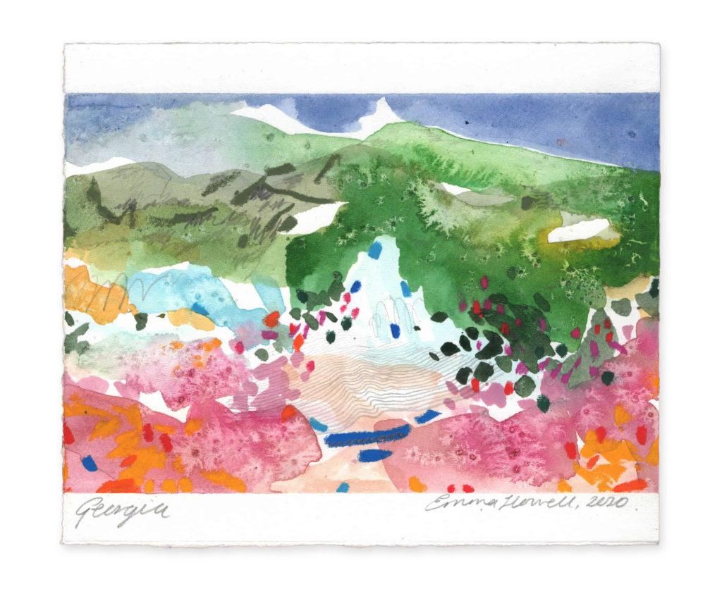 Georgia landscape art emma howell