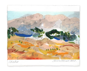 idaho landscape art emma howell