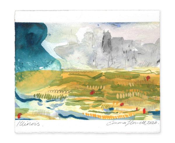 Illinois landscape art emma howell