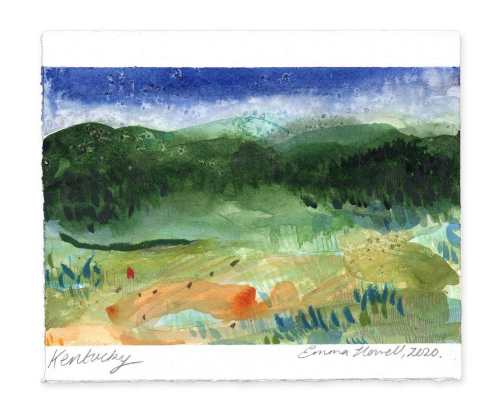 Kentucky landscape art emma howell
