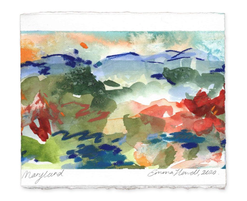 Maryland landscape art emma howell