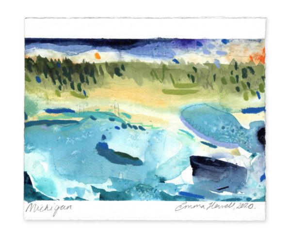 Michigan landscape art emma howell