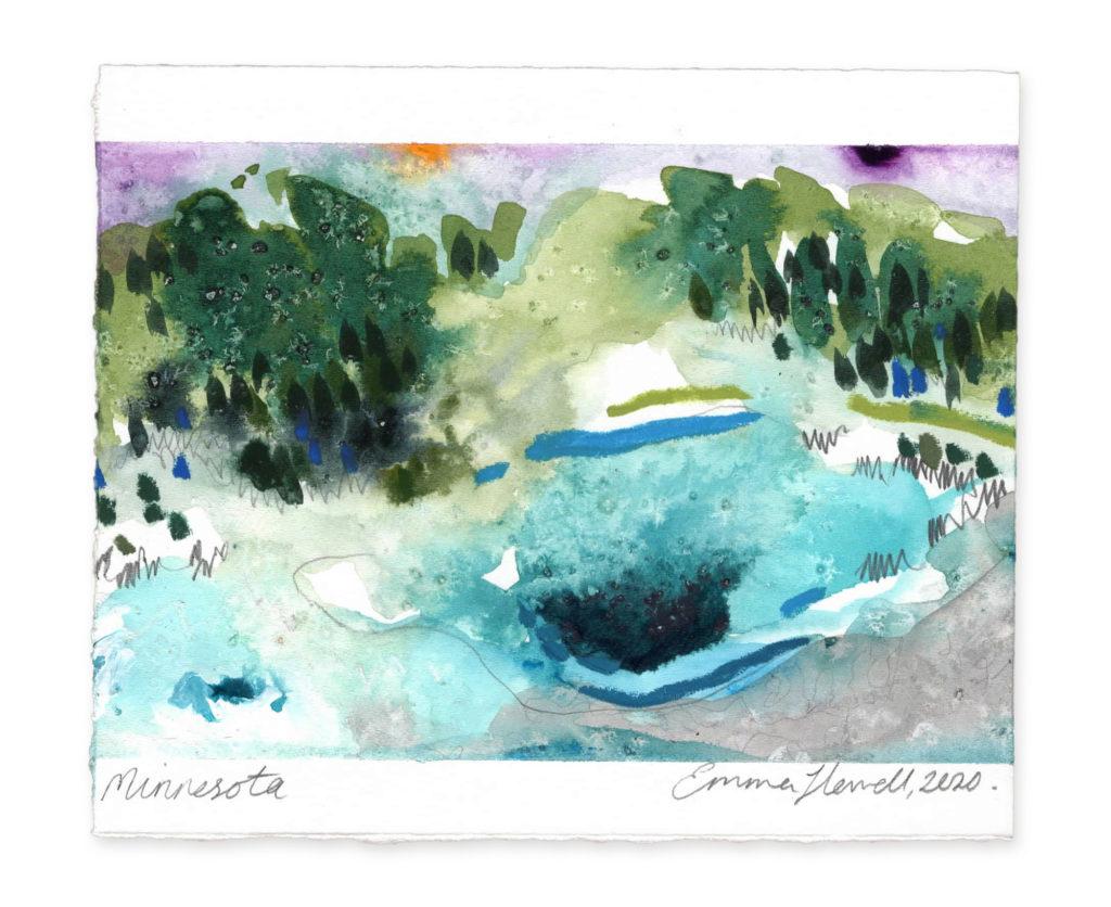 Minnesota landscape art emma howell