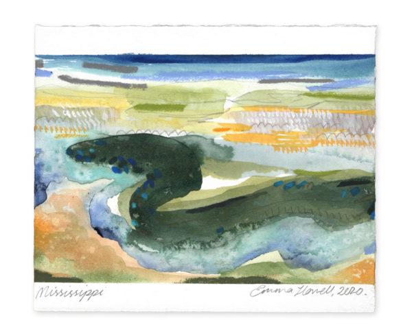 Mississippi landscape art emma howell