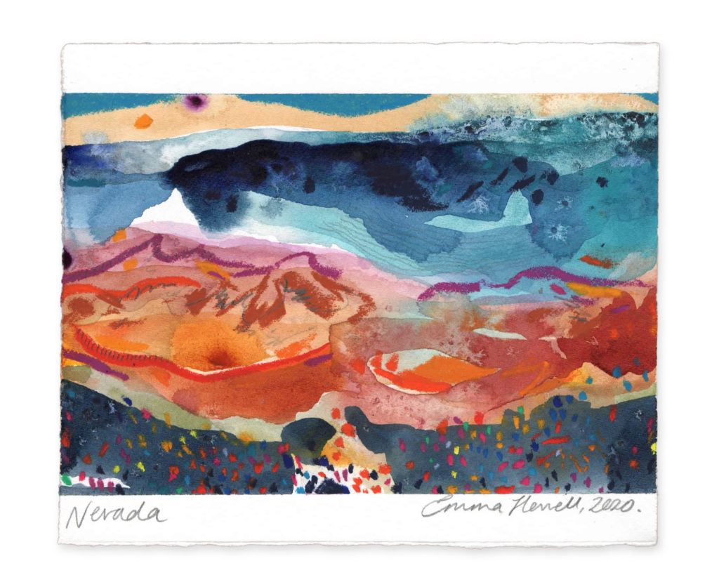 Nevada landscape art emma howell