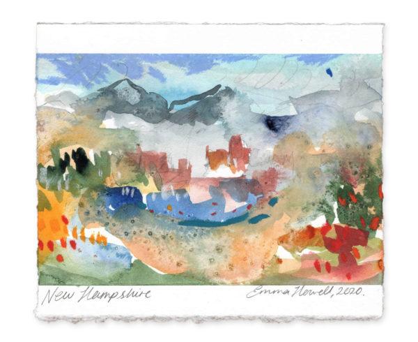 New Hampshire landscape art emma howell