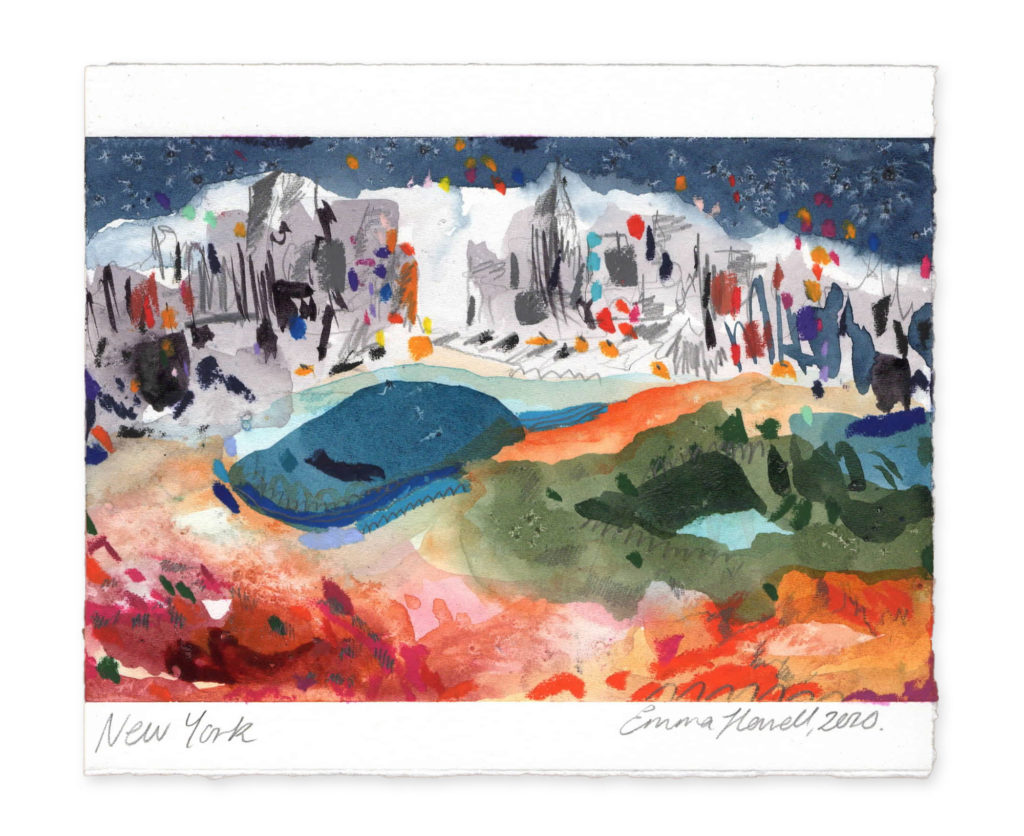 New york landscape art emma howell