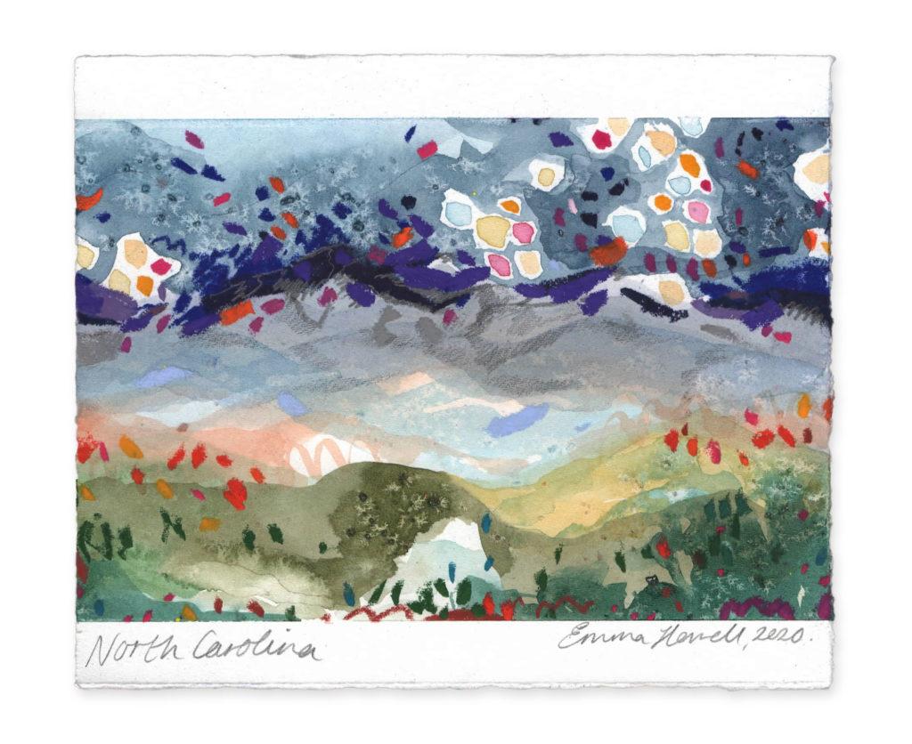north carolina landscape art emma howell