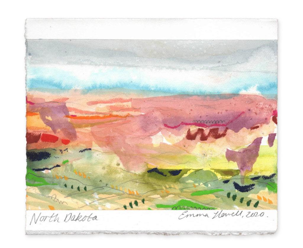 north dakota landscape art emma howell