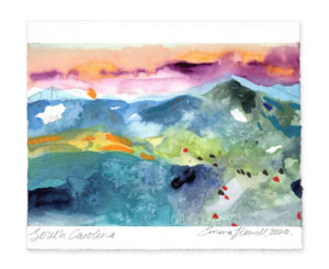 South Carolina landscape art emma howell