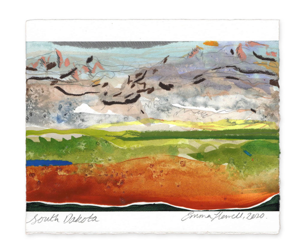 South Dakota landscape art emma howell