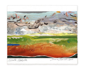 South Dakota landscape art emma howell