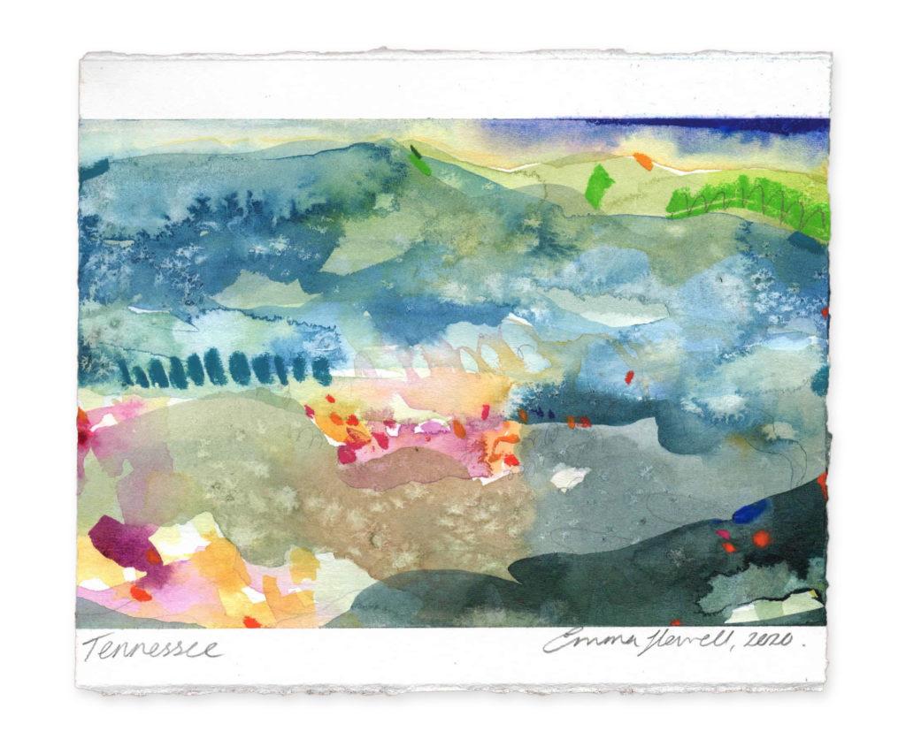 Tennessee Landcape art emma howell