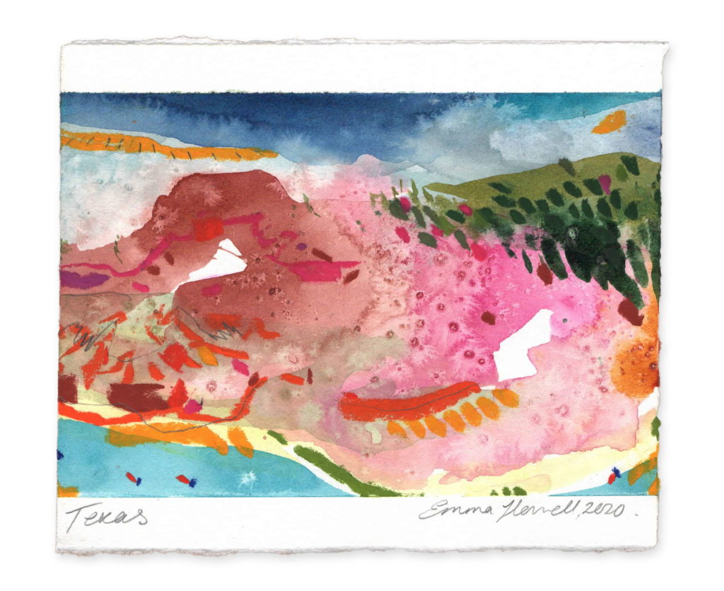 Texas landscape art emma howell