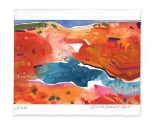 Utah landscape art emma howell