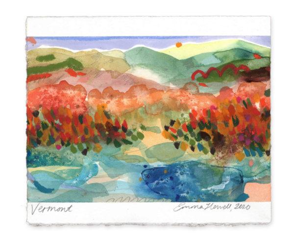 Vermont landscape art emma howell