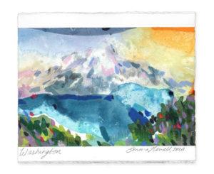 Washington landscape art emma howell