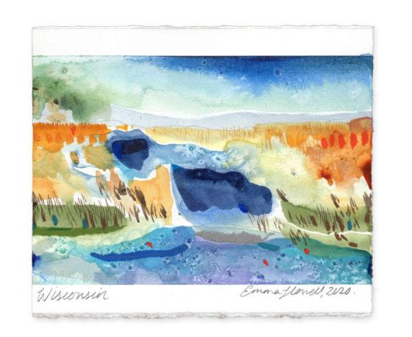 Wisconsin landscape art emma howell