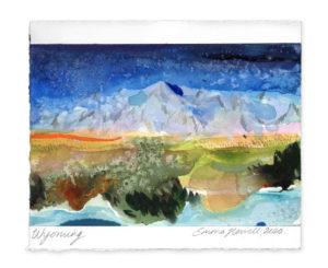 Wyoming landscape art emma howell
