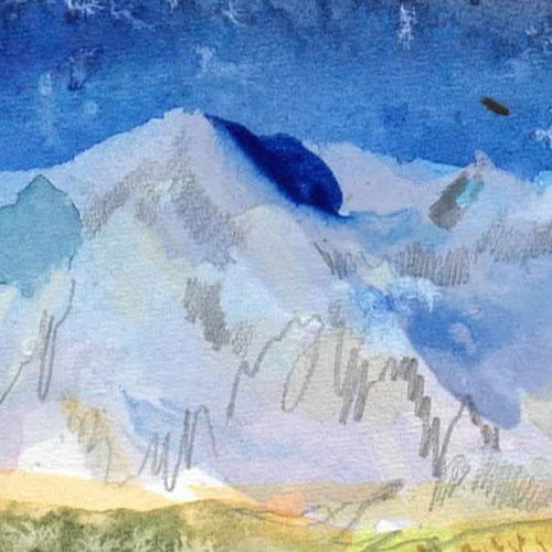 Wyoming landscape art 1