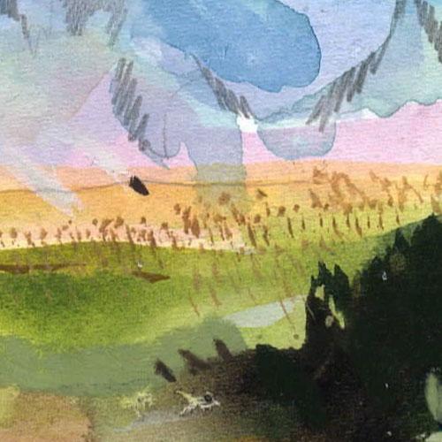 Wyoming landscape art 2
