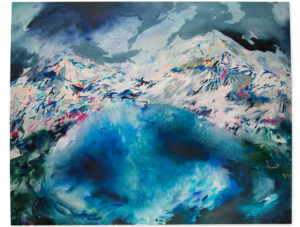 Durango abstract landscape painting emma howell