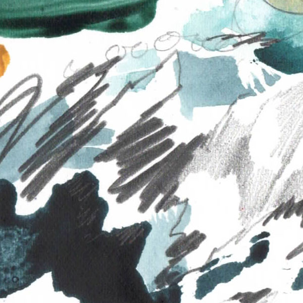 Emma Howell painting close up 1