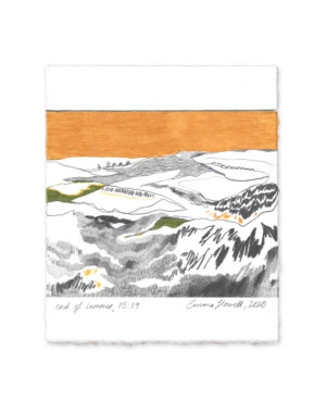 emma howell drawing yellow ocre