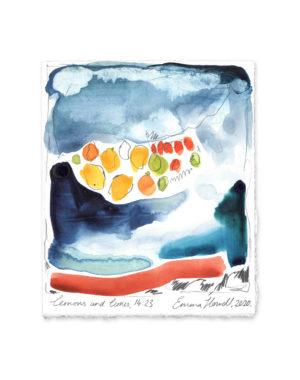 lemon and lime emma howell painting