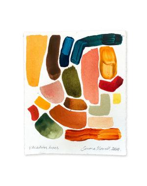 vacation hues, emma howell painting