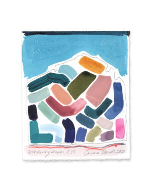 wandering shapes emma howell painting