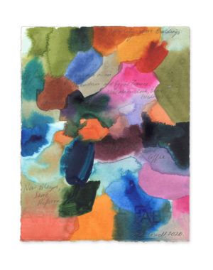 emma howell abstract colourful painting