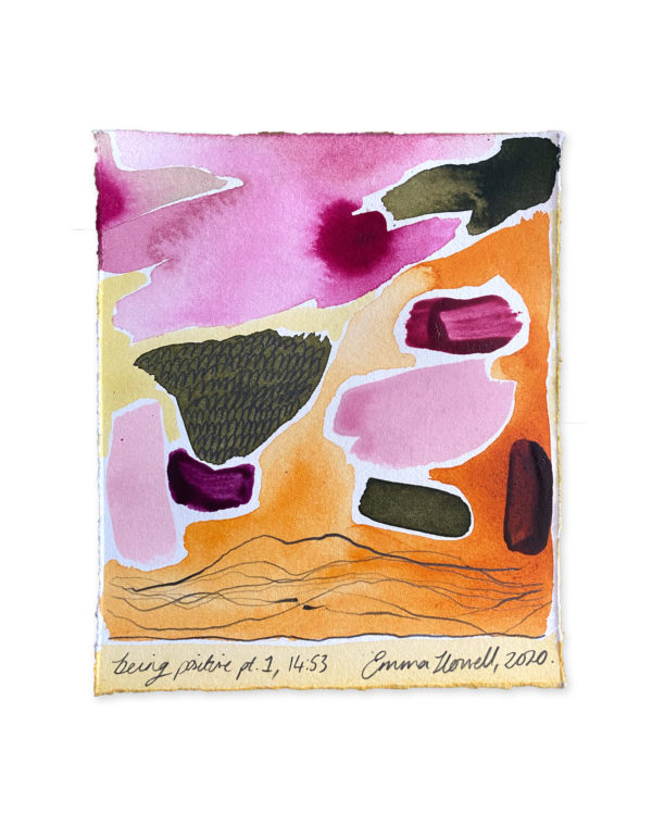 positive painting emma howell abstract