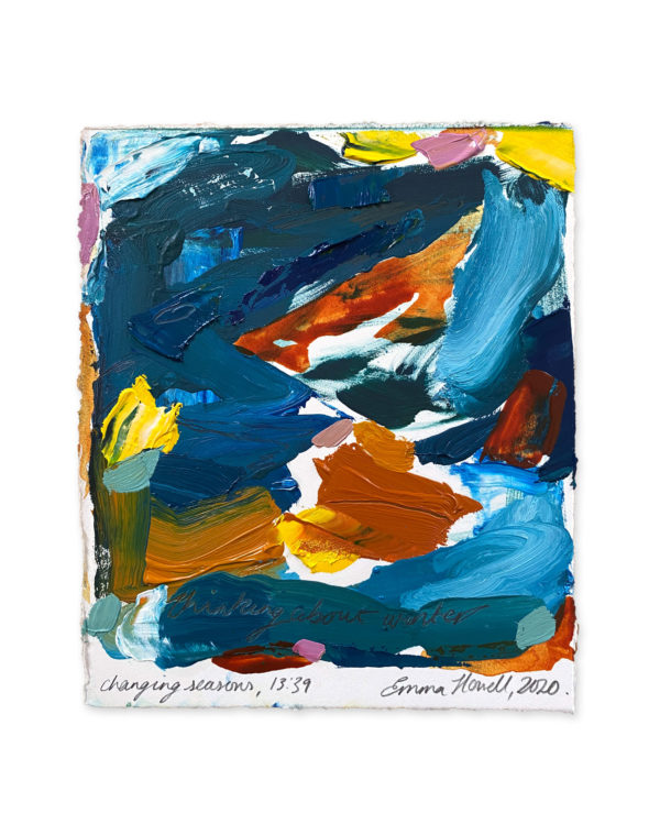 changing seasons emma howell abstract painting