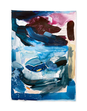 abstract painting emma howell surfing