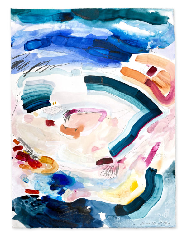 abstract painting emma howell