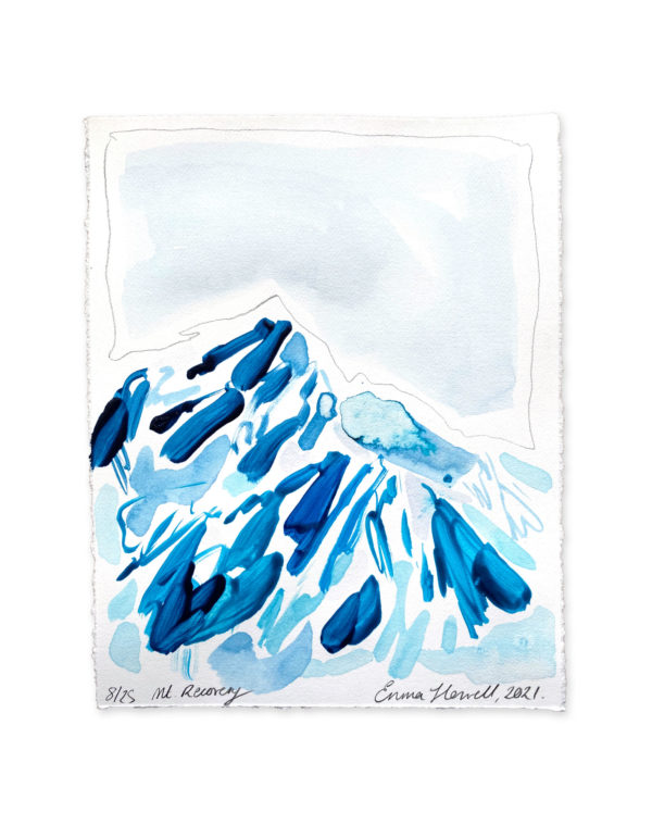 blue mountain painting emma howell