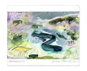 Aberdeenshire landscape drawing emma howell