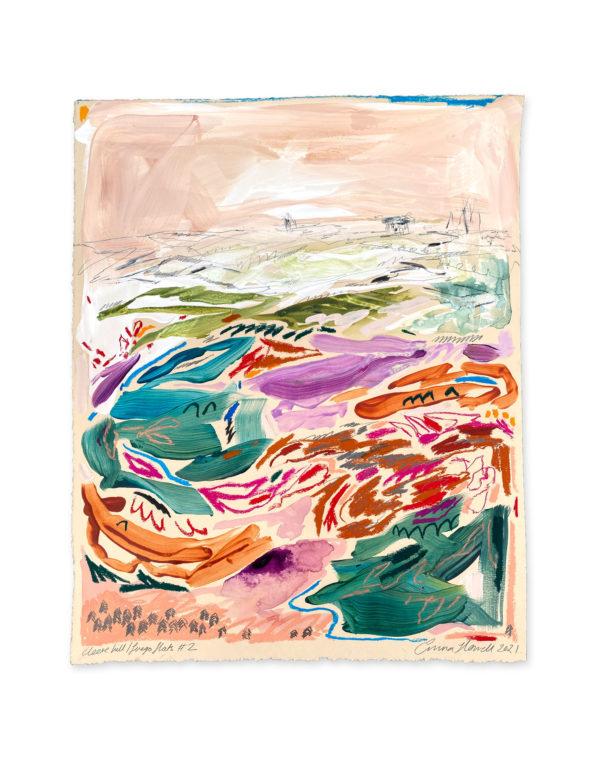 cleeve hill cheltenham abstract emma howell