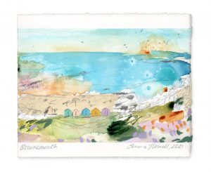 Bournemouth landscape painting emma howell
