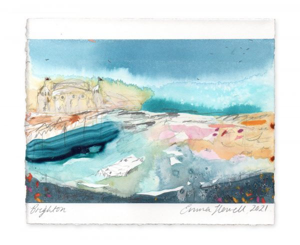 Brighton landscape painting emma howell
