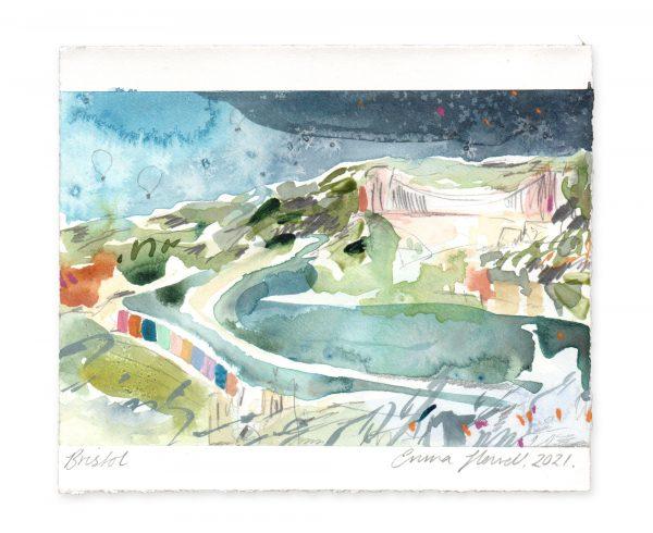 bristol landscape painting emma howell