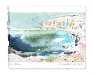 brixham landscape painting emma howell